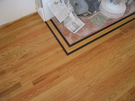 Example of our quality work done in clear grade for Wood floor quality grades